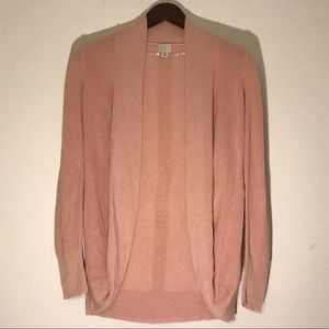 ✨NWOT✨A New Day Peachy-Pink Cardigan Size XS